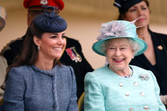 Kate Middleton had the best reaction when a kid asked if Queen Elizabeth eats pizza