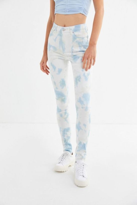 Urban Outfitters tie-dye jeans