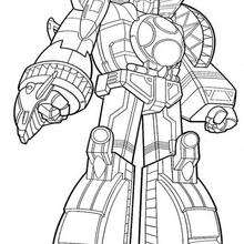 power rangers coloring page # 58