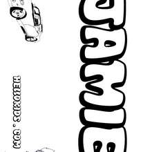 Boys name coloring pages : Coloring pages, Daily Kids News