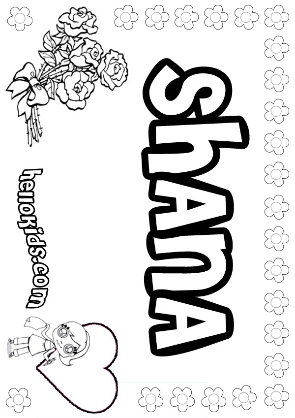 Shana Coloring Pages