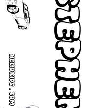 I and j boys names coloring book kids name coloring pages