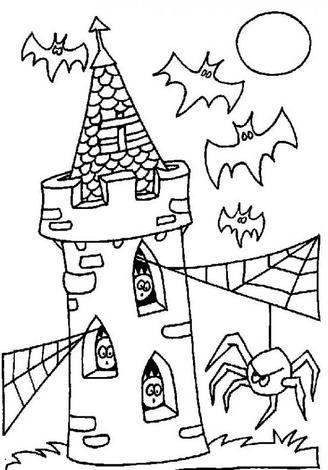 Spooktacular Halloween Coloring Pages
