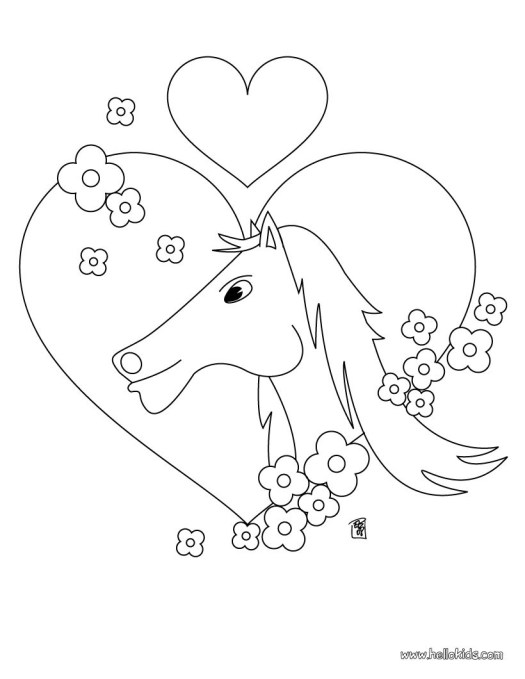 Horse Coloring Pages Games Online   Coloring Page Books and etc