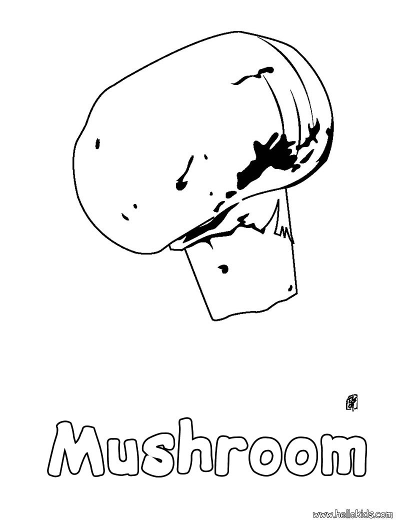 FRUIT AND VEGETABLE COLORING SHEET « Free Coloring Pages