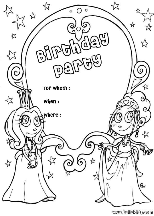 free printable coloring pages birthday 2015
