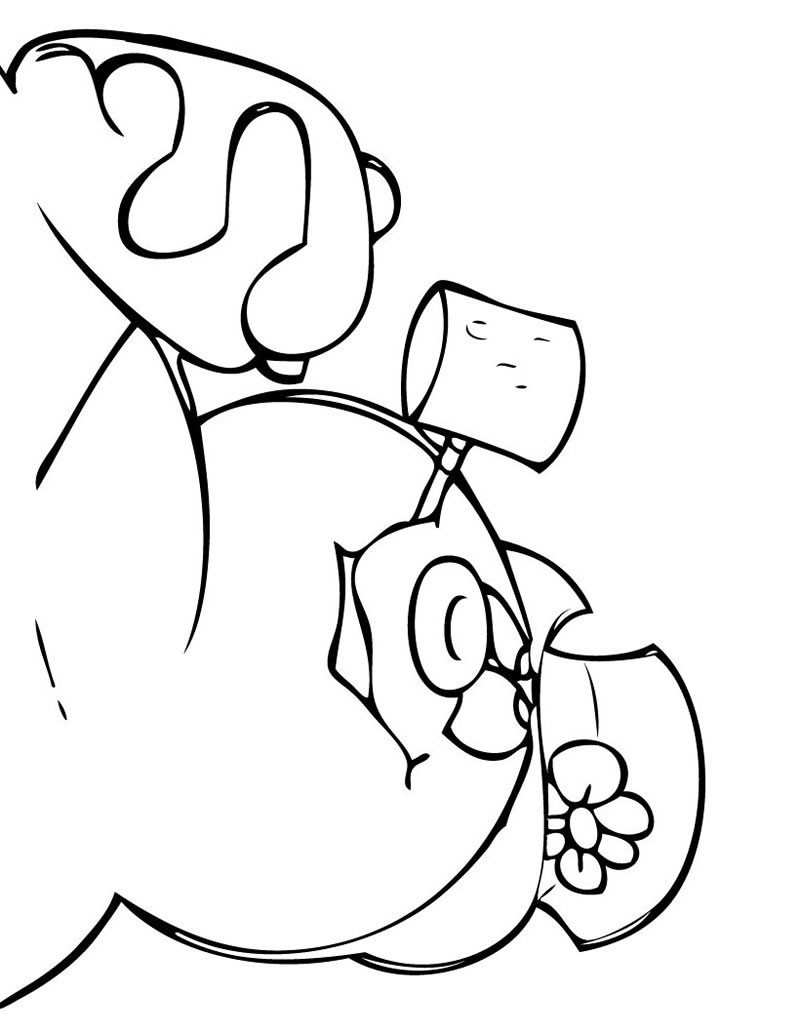 frosty the snowman coloring pages  frosty the snowman