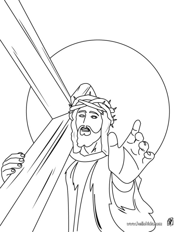 coloring pages jesus # 54
