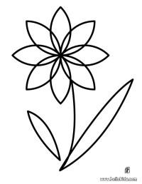 Flower coloring pages - Hellokids.com