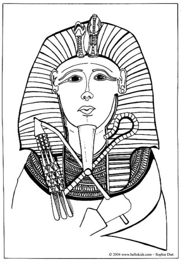 20 Printable Coloring Pages Egyptian Pharoh Ideas And Designs