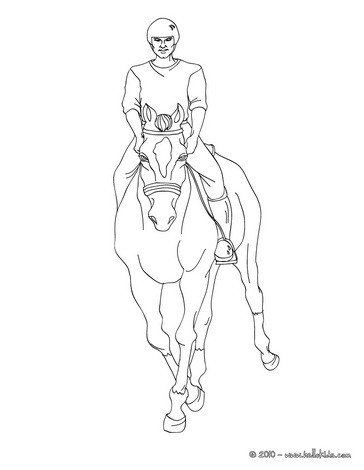 Valdes Tattoo: realistic horse coloring pages