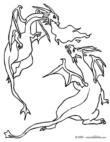 coloring pages dragon # 49