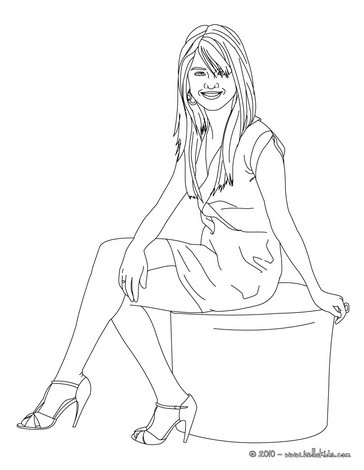 arinenal: justin bieber coloring pages for girls
