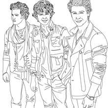 Camp rock : Coloring pages, Daily Kids News, Free Online