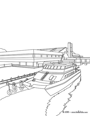 Boat Coloring Pages Coloring Pages Printable Coloring Pages Hellokids Com
