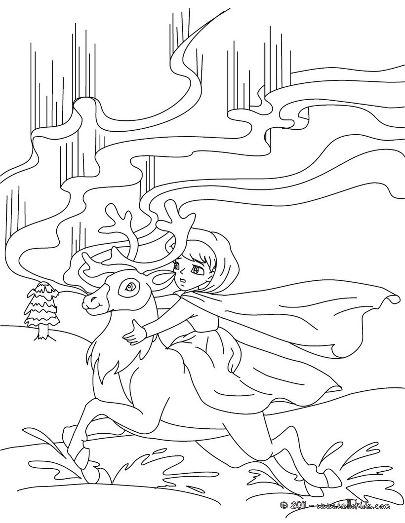 Nutcracker Snow Queen Coloring Page Coloring Pages