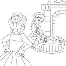 Cinderella : Coloring pages, Free Online Games, Videos for