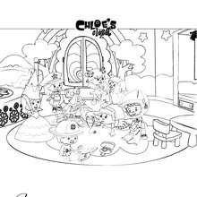 Chloe s bedroom coloring pages Hellokids com