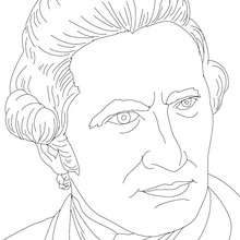 Charles Darwin Coloring Page Coloring Pages