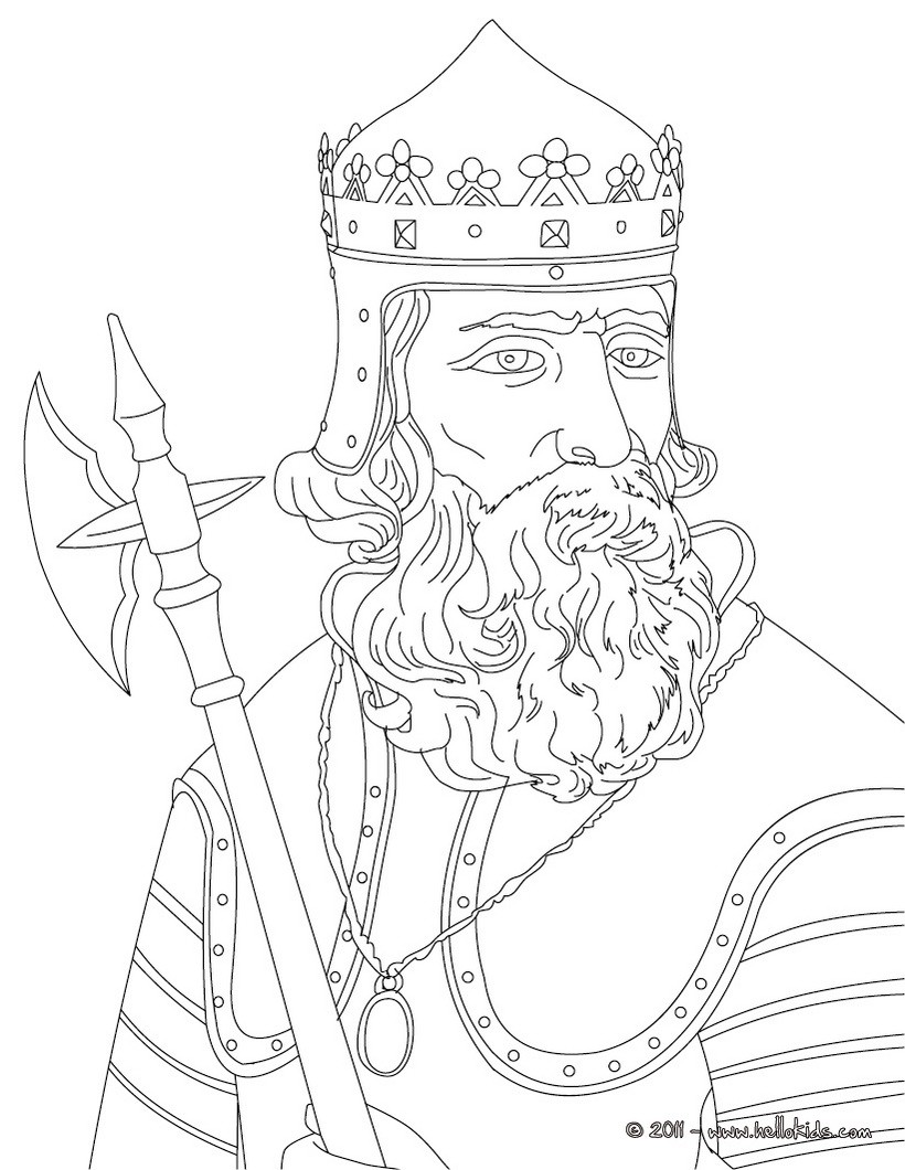 King Henry Ii Coloring Pages Hellokids