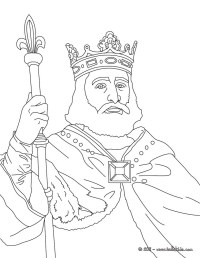 King charles martel coloring pages