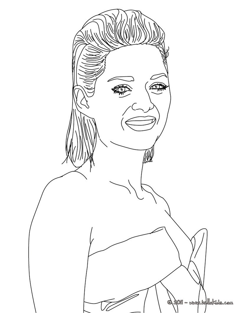 French Celebrities Coloring Pages Coloring Pages Printable