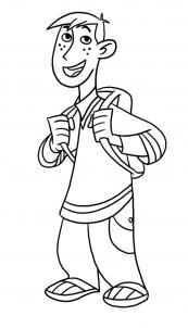 How to draw how to draw ron stoppable from kim possible