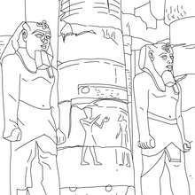 Egypt : Coloring pages, Free Online Games, Reading