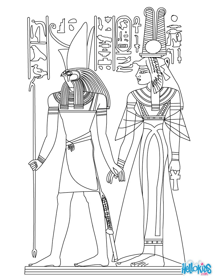 free printable coloring pages egypt 2015