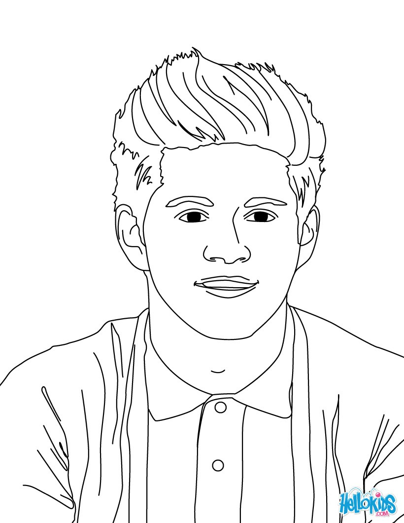 One Direction Coloring Pages Coloring Pages Printable Coloring