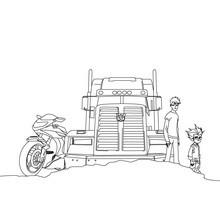 transformers prime coloring pages # 30