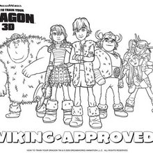 How To Train Your Dragon Coloring Pages 5 Movies Online Coloring Sheets And Printables For Kids
