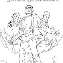 √ Lightning Thief Coloring Pages / Behind The Book The