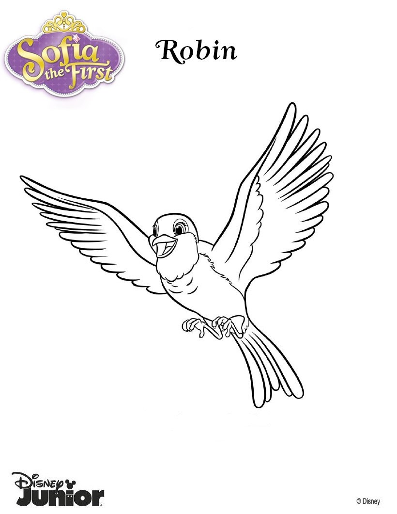 Sofia The First Coloring Pages 7 Free Disney Printables For Kids