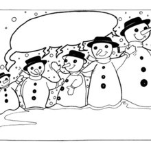Snowman coloring pages, crafts, games and fun activities