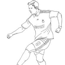 SOCCER coloring pages : 132 free online coloring books