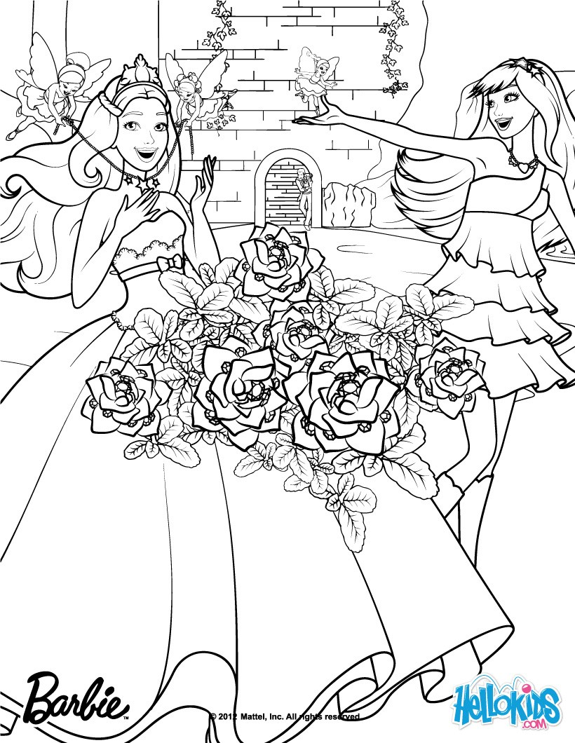 Keira The Popstar Coloring Pages Hellokids