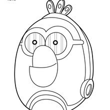 angry bird coloring page # 81