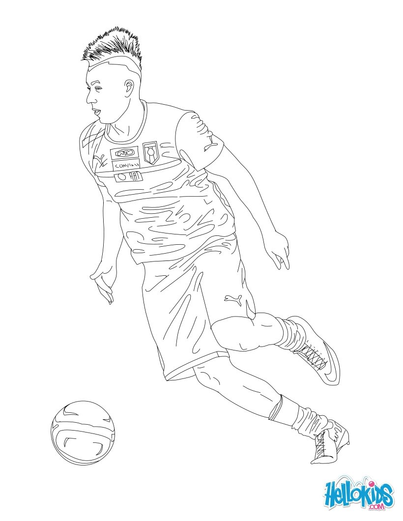 C Coloring Pages Sport Coloring Pages Soccer Coloring Pages Soccer Players Coloring Pages Stephan El Shaarawy