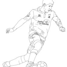 SOCCER PLAYERS coloring pages : 43 free online coloring