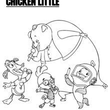 Chicken Little with Friends