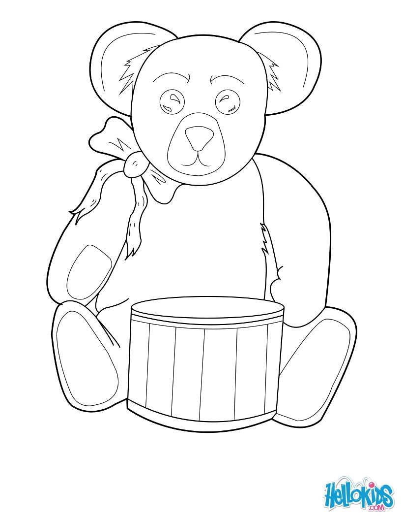 Christmas Toys Free Coloring Pages Crafts Games And Activities