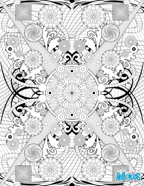 coloring pages online for adults # 4
