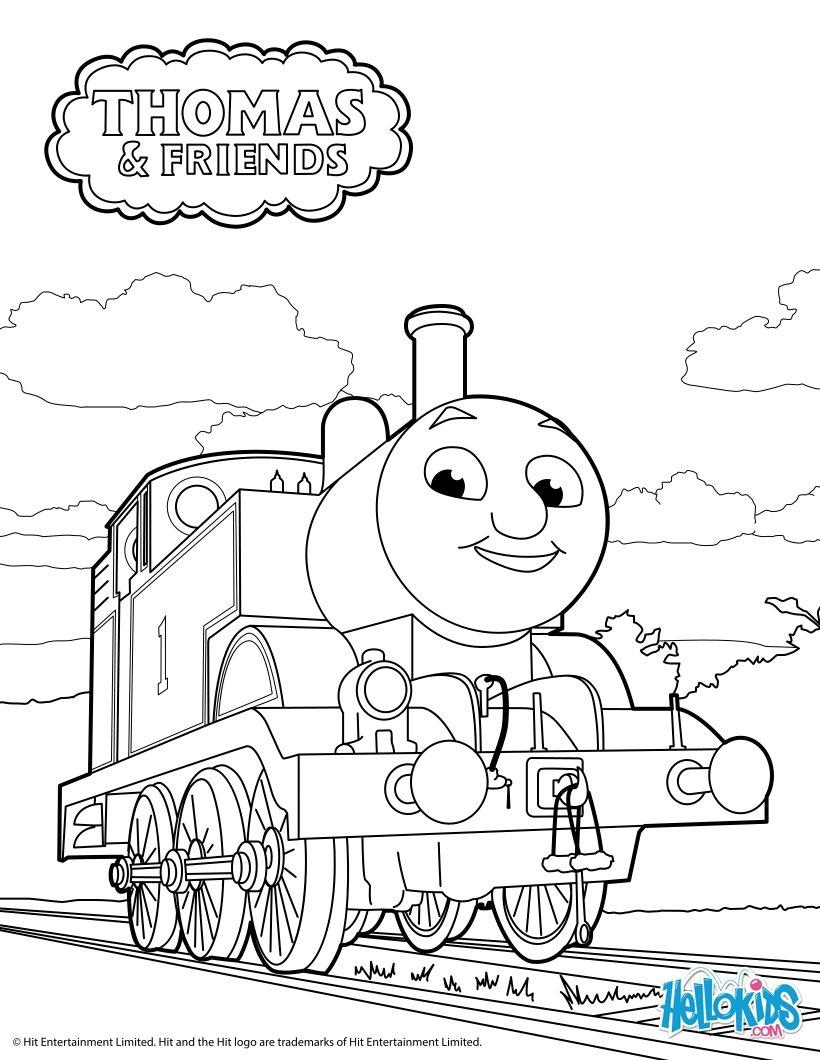 Thomas Train Engine Drawing, Thomas, Free Engine Image For