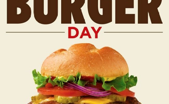 National Burger Day Hellokids
