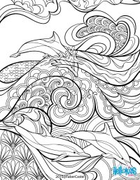 Mandala art dco coloring pages - Hellokids.com