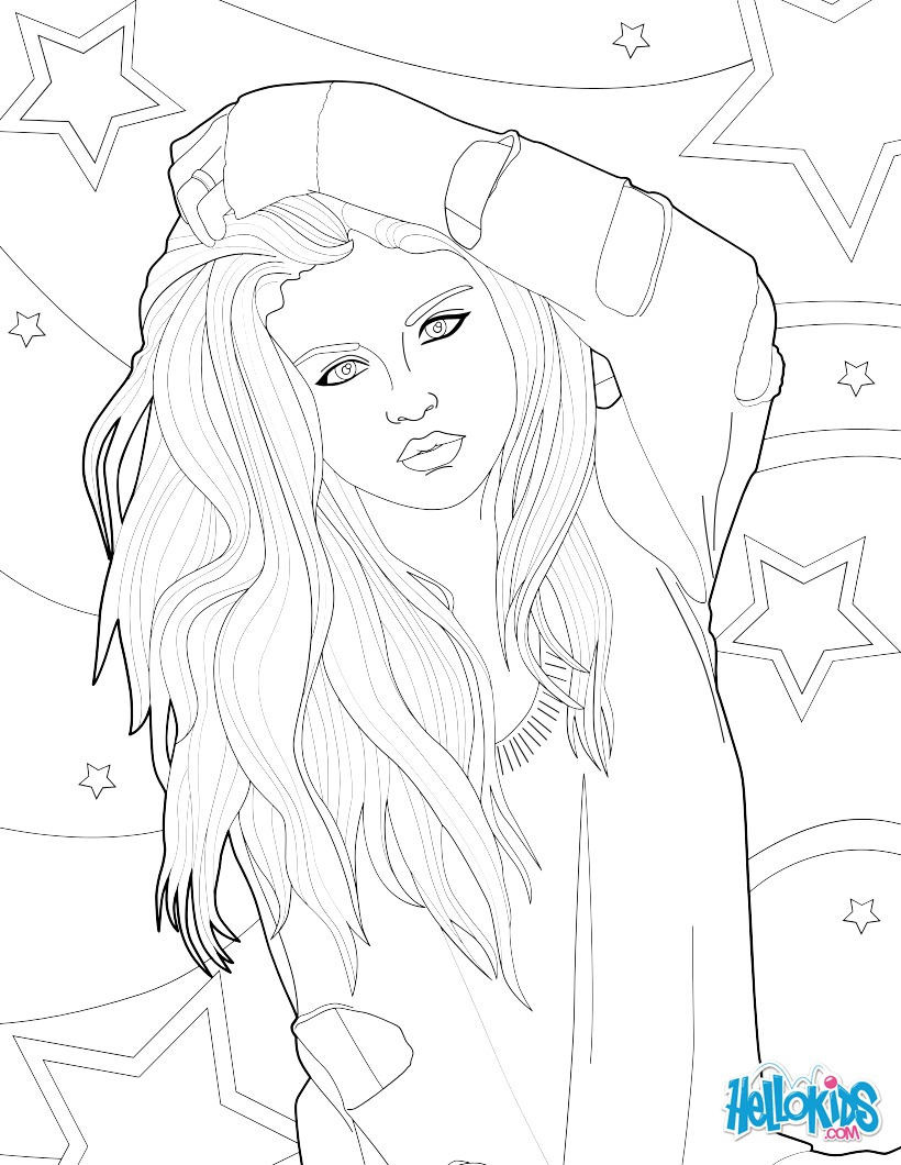 Famous People Coloring Pages Hellokids