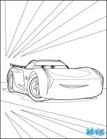 Cars 3 jackson storm coloring pages   Hellokids.com