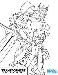Transformers optimus prime coloring pages - Hellokids.com