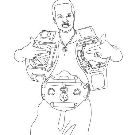 Pix For > The Miz Coloring Pages